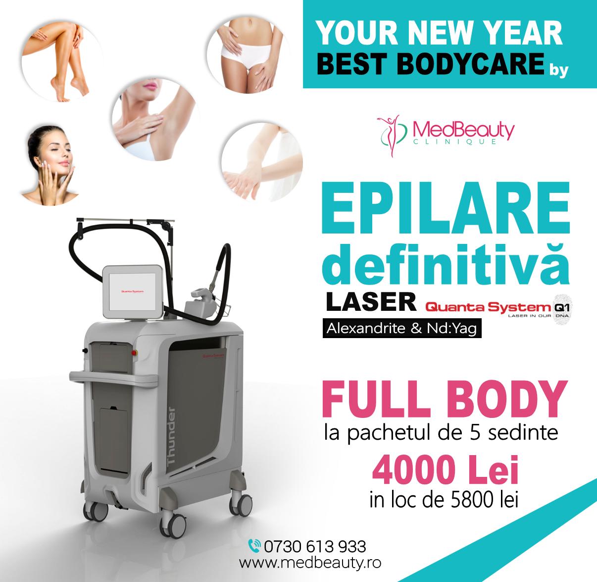 epilare definitiva full body laser